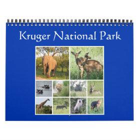 kruger safari calendar