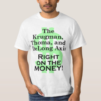 Krugman/Thoma/DeLong Axis, light T-Shirt