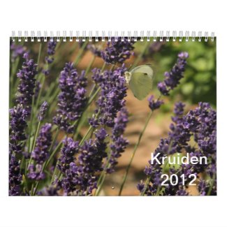 Kruiden calendar