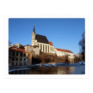 Krumlov Castle Postcard