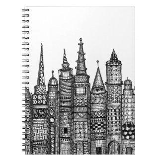 Krumlov Spiral Notebook