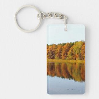 Krumme Lanke in Autumn Keychain