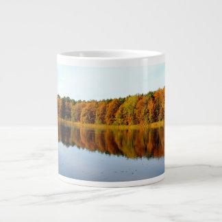 Krumme Lanke in Autumn Large Coffee Mug