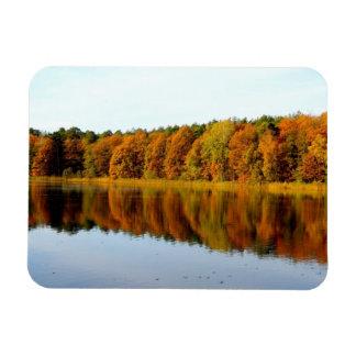 Krumme Lanke in Autumn Magnet