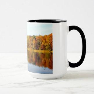 Krumme Lanke in Autumn Mug