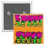 Krump Clown Pinback Buttons