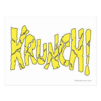 KRUNCH! POSTCARD