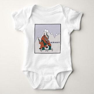 Krunt - based on the Kun Lai Runt petpet Baby Bodysuit