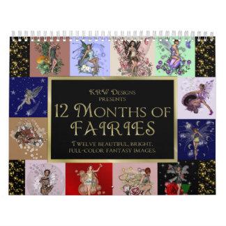 KRW 12 Months of Fairies 2012 Calendar