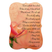 KRW 1 Corinthians 13 Love is Patient Invitation