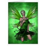 KRW Absinthe The Green Fairy Blank Card