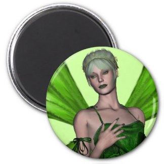 KRW Absinthe - The Green Fairy Close Up Magnet