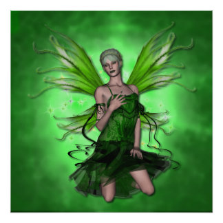 KRW Absinthe The Green Fairy Poster