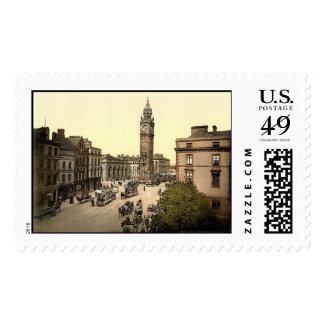 KRW Albert Memorial Belfast Ireland Vintage Stamp