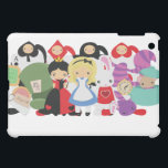 """KRW Alice in Wonderland Group  iPad Mini Case<br><div class=""""desc"""">KRW Alice in Wonderland Group . This great i was seen at celebrity gift lounge at the 2011 Golden Globe Awards and photographed with Jennifer Love Hewitt of Ghost Whisperer and Nelsan Ellis of True Blood as well as Adam Mucci from HBOs Boardwalk Empire. See photos from this Hollywood red...</div>"""