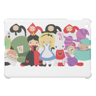 KRW Alice in Wonderland Group  Cover For The iPad Mini