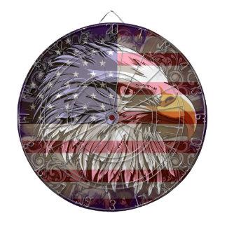 KRW American Eagle y Dartboard de la bandera