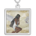 KRW Angel and the Dove Sterling Silver Necklace
