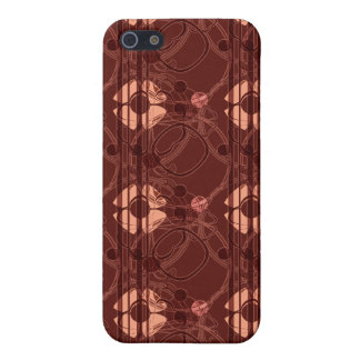 KRW Art Nouveau Russet i Cover For iPhone SE/5/5s
