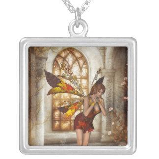 KRW Autumn Delight Fairy Fantasy Silver Necklace