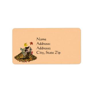 KRW Autumn Faery Custom Address Label