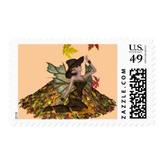 KRW Autumn Faery Stamp