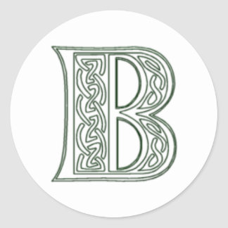 KRW - B - Celtic Monogram Seal
