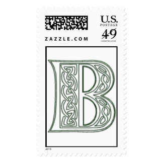 KRW - B - Celtic Monogram Stamp