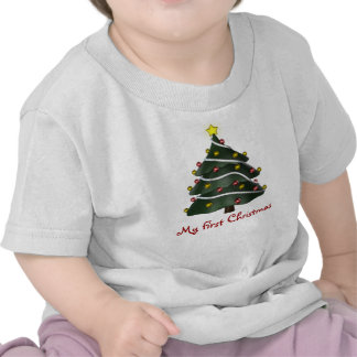 KRW Baby's First Christmas Tree Shirts