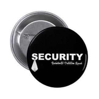 KRW Bachelorette Protection Squad Pinback Button