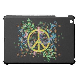 KRW Beautiful Butterfly Peace Sign  iPad Mini Covers