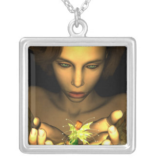KRW Behold Fairy Fantasy Silver Necklace