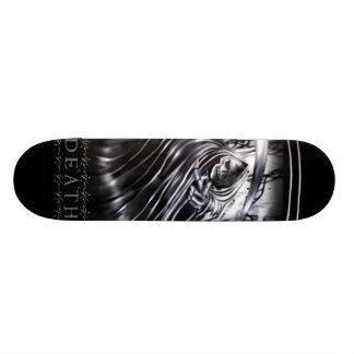KRW Black Death Grim Reaper Skateboard Deck
