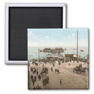 KRW Blackpool England Vintage Magnet