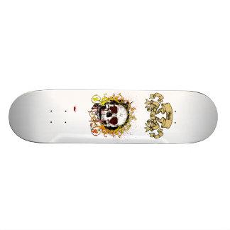 KRW Bleeding From the Eyes Skull Skateboard