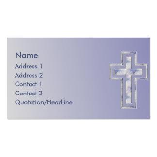 KRW Blue Cross Christian Custom Business Card