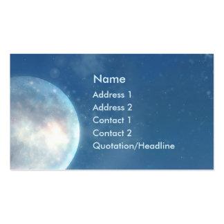 KRW Blue Moon Fantasy Business Card