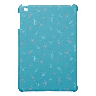 KRW Blue Retro Stars  iPad Mini Cover