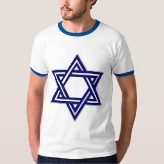 KRW Blue Star of David T Shirt
