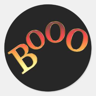 KRW Booo Cute Halloween Sticker