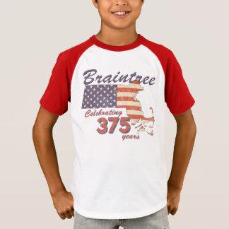 KRW Braintree Mass 375th Birthday Kids Shirt