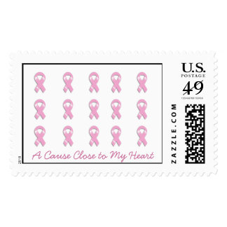 KRW Breast Cancer - A Cause Close to My Heart Postage