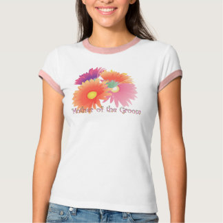 KRW Bright Daisy Mother of the Groom Wedding Shirt