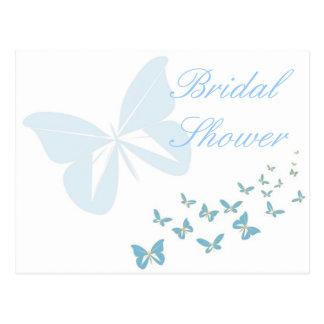 KRW Butterfly Custom Shower Invitation Postcards