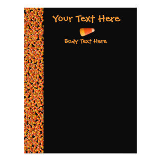KRW Candy Corn Black Large Flyer Template