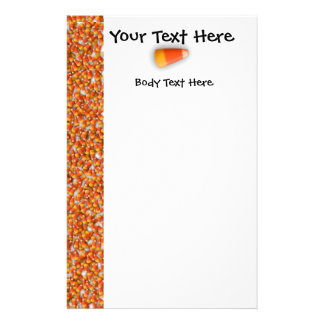 KRW Candy Corn Large Flyer Template
