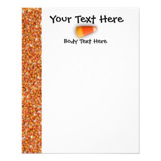 KRW Candy Corn Small Flyer Template