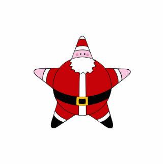 KRW Cartoon Star Santa Claus Pin Statuette