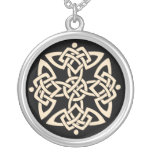 KRW Celtic Knot Sterling Silver Necklace