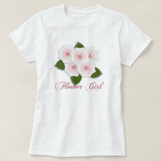 KRW Cherry Blossom Flower Girl Shirt